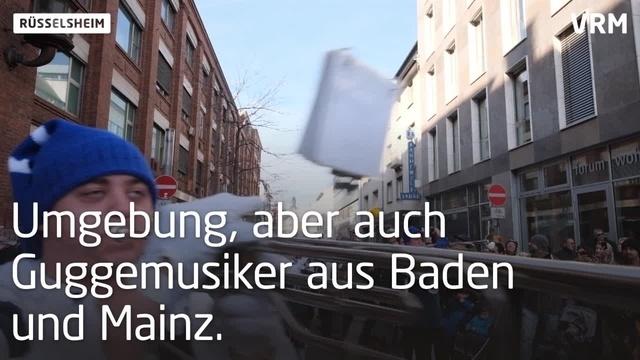 Gardetag in Rüsselsheim