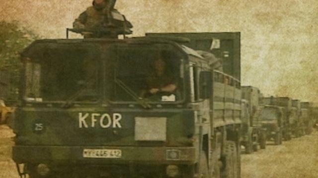 Einmarsch in den Kosovo
