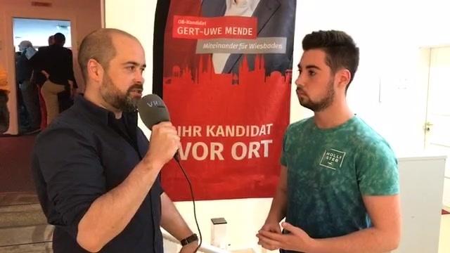 OB-Wahl in Wiesbaden: Interview mit Silas Gottwald
