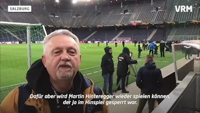 Eintracht Frankfurt vor dem Rückspiel gegen Salzburg