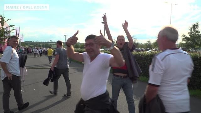 Mainz: Vorfreude auf die Fußball-Nationalmannschaft