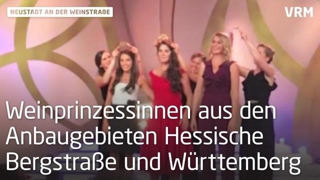 Angelina Vogt ist die 71. Deutsche Weinkönigin
