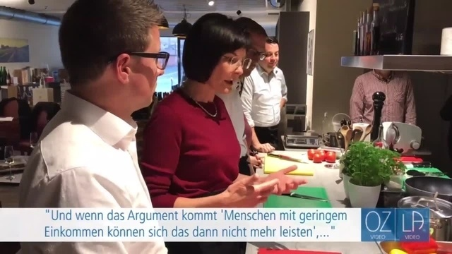 Vogelsberger Landtagsdirektkandidaten kochen gemeinsam