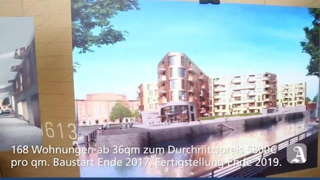 Mainz: Am Zollhafen entsteht Pandion Doxx