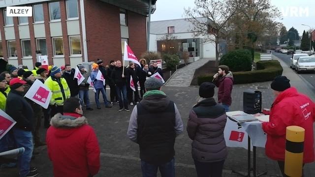 EWR-Streik in Alzey