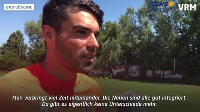 SV Wehen Wiesbaden: Interview mit Sascha Mockenhaupt