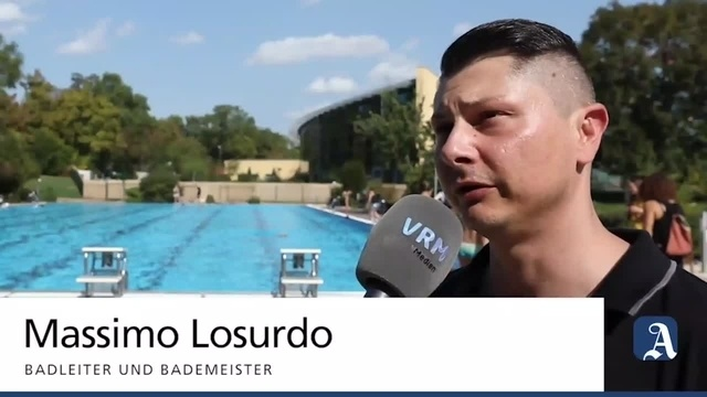 Plitsch platsch - Badespaß für Zwei- und Vierbeiner im Mainzer Taubertsbergbad