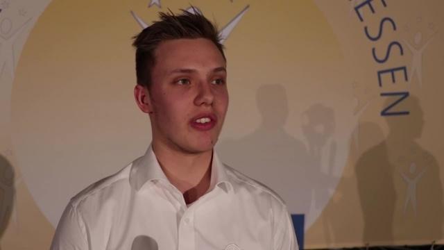 Bjarne Kraushaar ist Nachwuchssportler des Jahres 2018