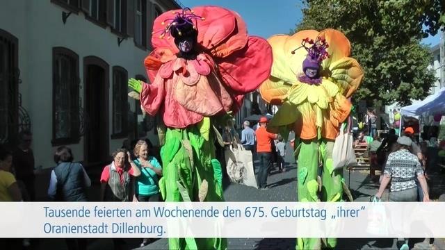 675 Jahre Oranienstadt Dillenburg