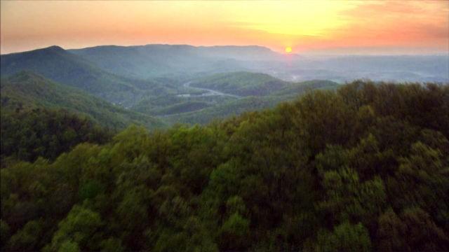 Kentucky aus der Luft