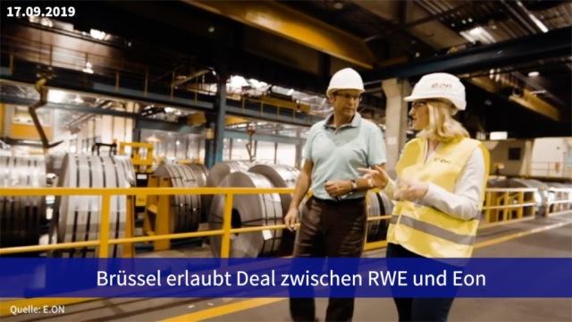 Aktien im Fokus: Brüssel erlaubt Deal zwischen RWE und Eon
