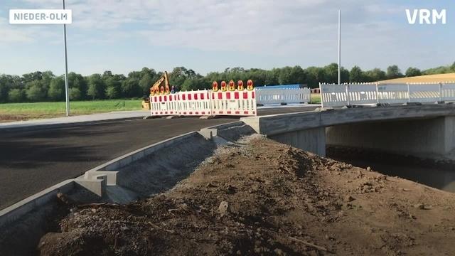 Neue Anbindungsstraße für das Schulzentrum Nieder-Olm