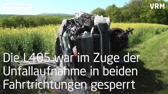 Tödlicher Unfall bei Nieder-Wiesen