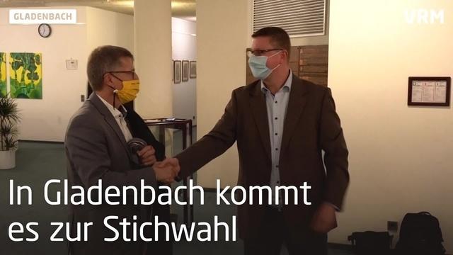 In Gladenbach kommt es zur Stichwahl