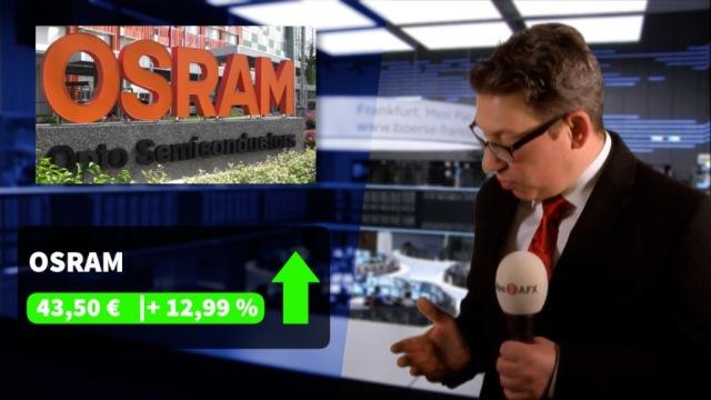 """Osram-Aktie legt auf Xetra zweistellig zu, Wirecard von neuem """"FT""""-Bericht belastet"""