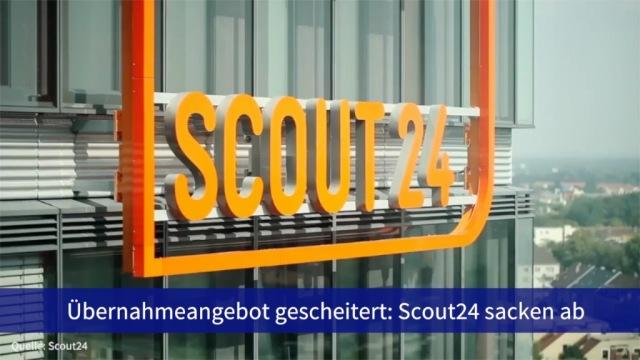 Aktie im Fokus: Übernahmeangebot gescheitert - Scout24 sacken ab