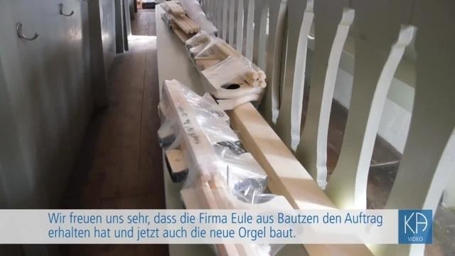 Orgelsanierung in Nidda