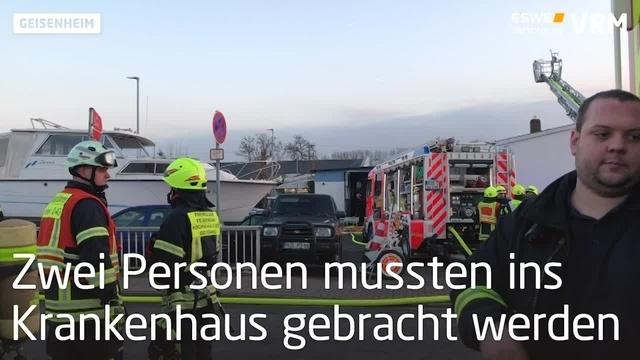 Brand in Geisenheimer Werkstatt