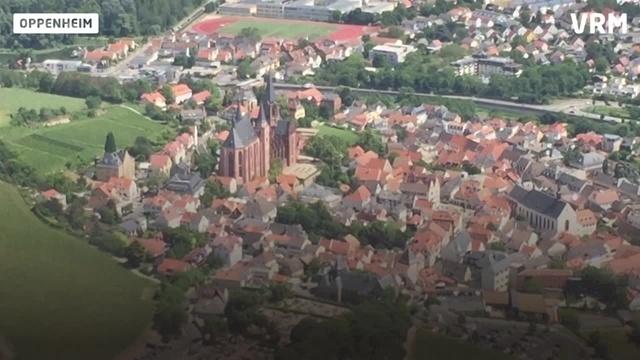 Rheinhessen aus der Vogelperspektive