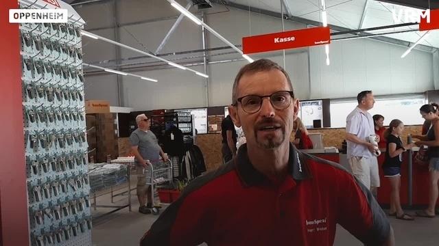 Neuer Baumarkt in Oppenheim