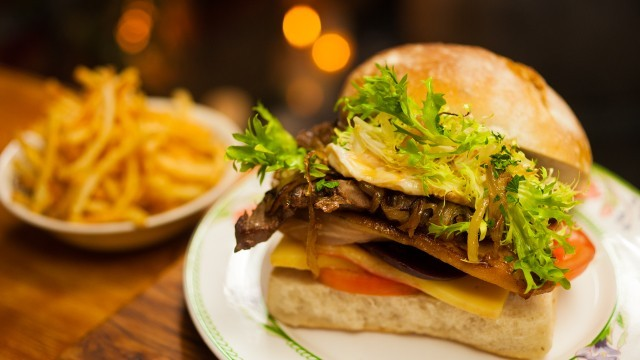 Känguru Steak Sandwich