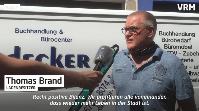 Schaustellerbuden in Alzey – lohnt sich die Aktion?