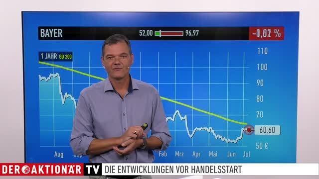 Marktüberblick: Dow Jones, DAX, Gold, Anta Sports, Boeing, Dt. Bank, Bayer, Airbus, Evotec