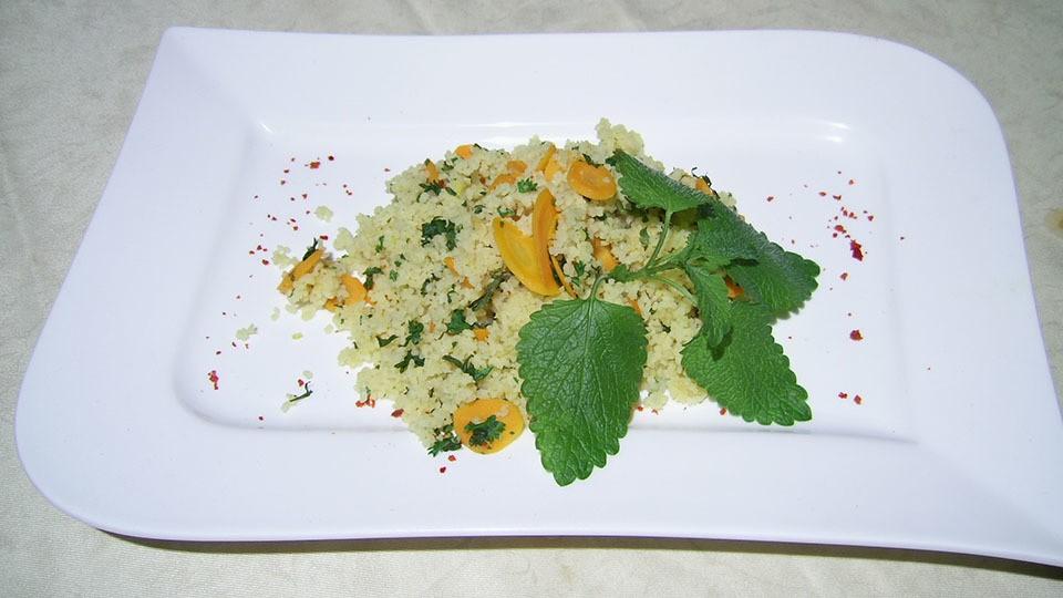 Karotten-Couscous-Pfanne