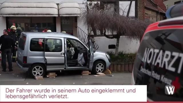 Wiesbaden: Unfall mit Bus in Erbenheim