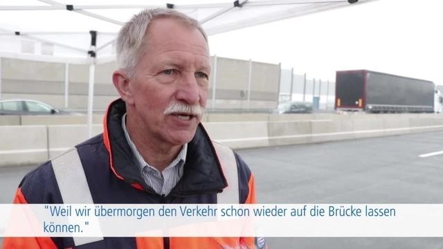 Die Talbrücke Münchholzhausen ist eröffnet