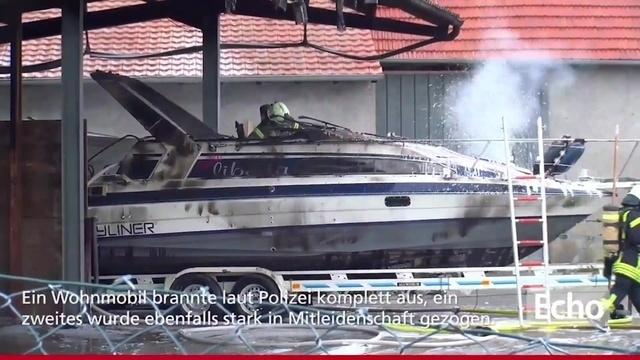 300.000 Euro Schaden durch Brand in Pfungstadt