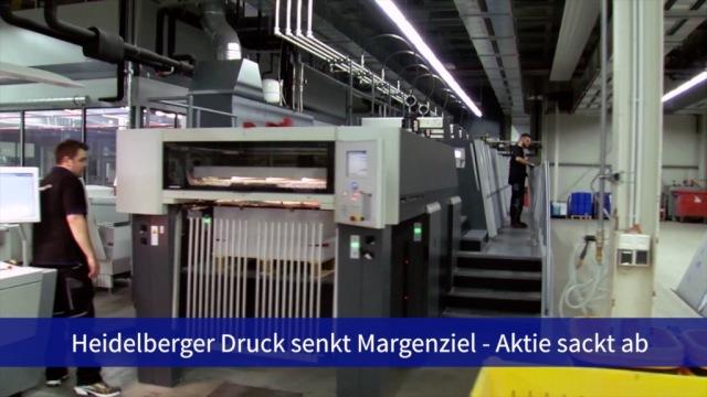 Aktie im Fokus: Heidelberger Druck enttäuscht - Kursrutsch