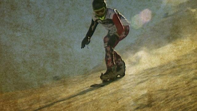 Der erste Snowboard-Marathon