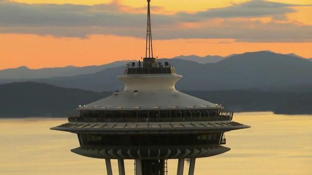 Washington aus der Luft