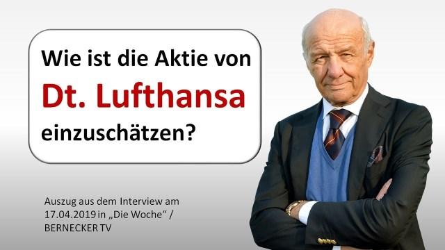 Wie ist die Aktie von Dt. Lufthansa einzuschätzen?