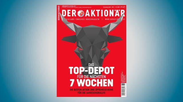 Das Top-Depot für die nächsten 7 Wochen - DER AKTIONÄR Nr. 46/19