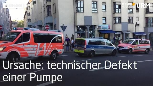 Feuerwehreinsatz an der Kaiser-Friedrich-Therme