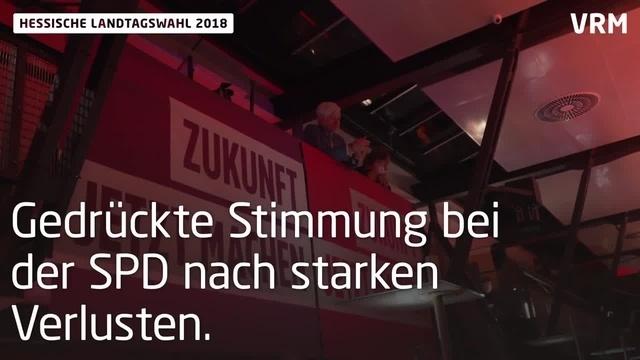 Landtagswahl Hessen 2018: Hohe Verluste für CDU und SPD