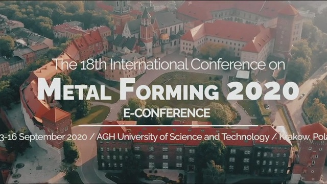 Metal Forming 2020 e-Conference Spot