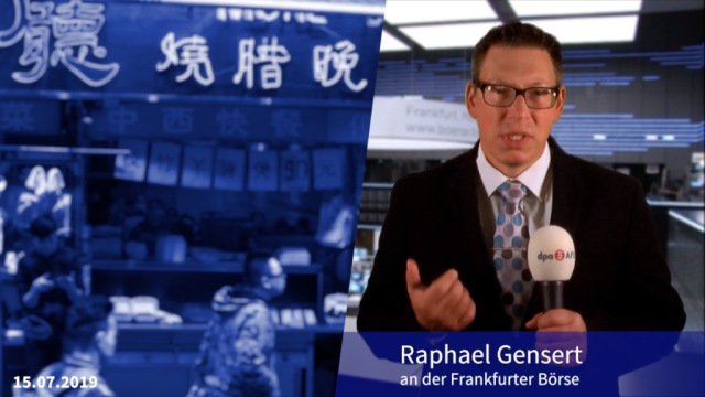 Chinas Konjunktudaten sind nicht gut, aber auch nicht schlecht