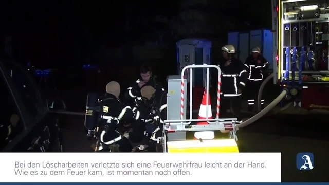 Brand in Bad Kreuznach