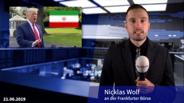 Anleger halten sich bedeckt - Irankrise im Blick