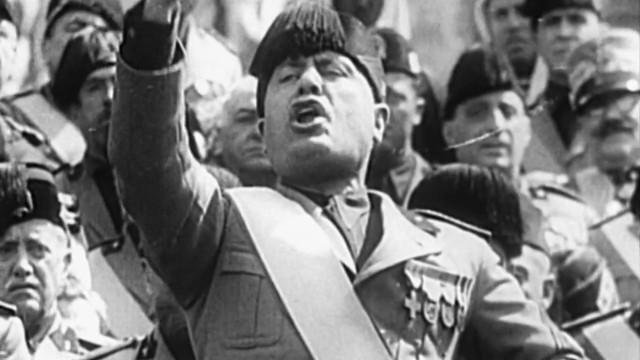 Benito Mussolini - Ikone des Faschismus