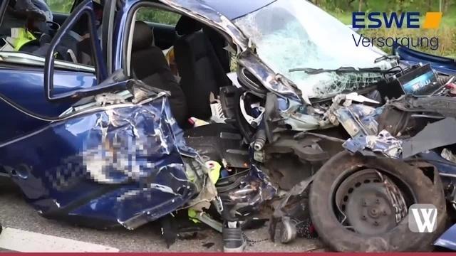 Unfall auf B42 bei Oestrich-Winkel