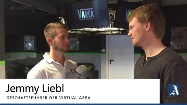 Mainz: Die Virtual Area in Weisenau vor der Eröffnung im Test