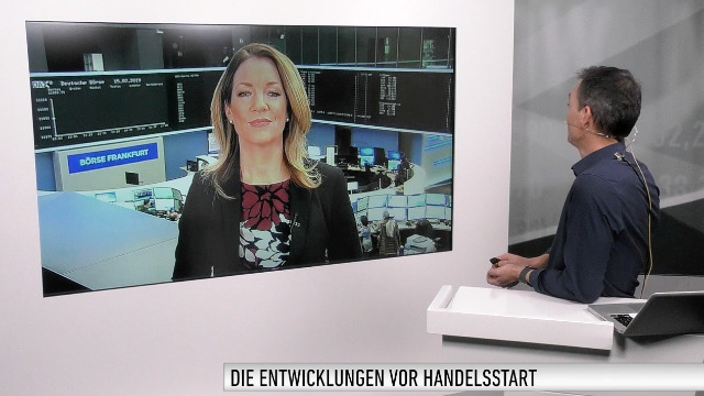 MArktüberblick; Dow Jones, DAX, Hang Seng, Nvidia, Allianz, Bayer, BVB, Scout24