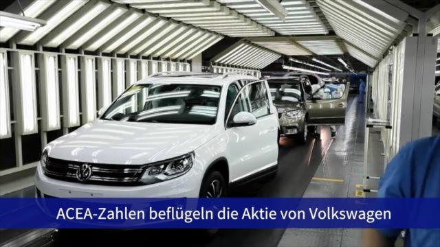 Aktie im Fokus: VW beflügelt von Europa-Zahlen