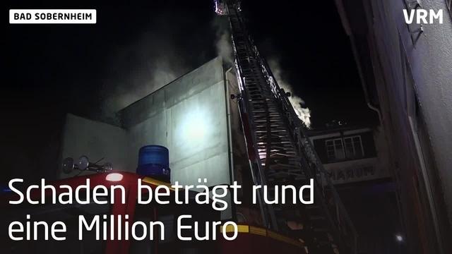 Bad Sobernheim: Brand in der Bahnhofstraße
