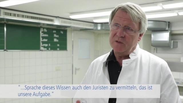 Besuch in der Gerichtsmedizin Gießen