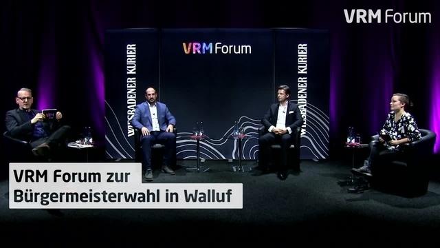 Wallufer Bürgermeisterkandidaten diskutieren im Livestream